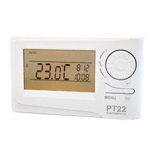 PT-22 prostorový digitální termostat s podsvíceným displejem
