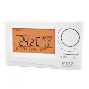 PT-32 je termostat s předvídavým systémem (inteligentní časovač)