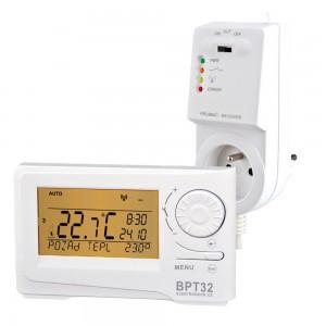BPT-32 je bezdrátový termostat s předvídavým systémem