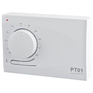 PT01 elektronický termostat s regulací a automatickým útlumem